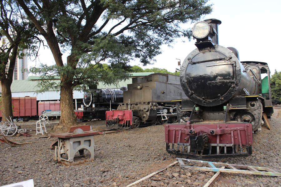 Nairobi rail museum backpacking romance