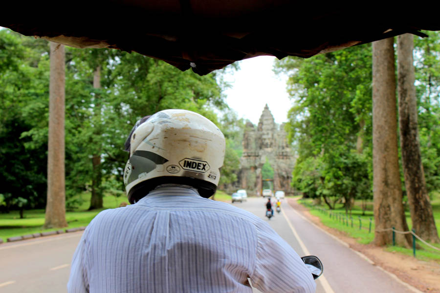 And finally, we had to bid 'Goodbye' to Angkor and continue with our journey...