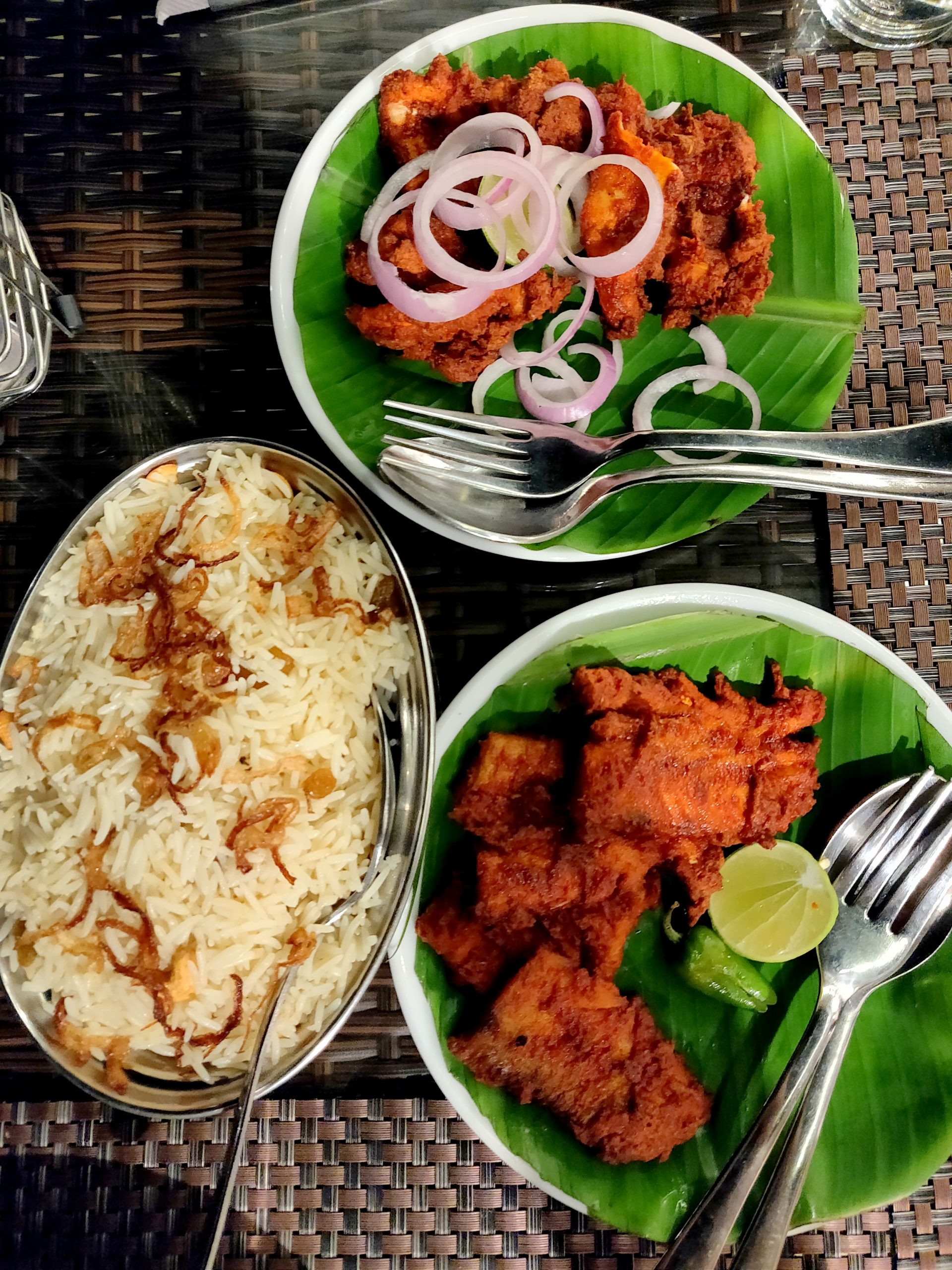Binge on the delicious Malabari cuisine!