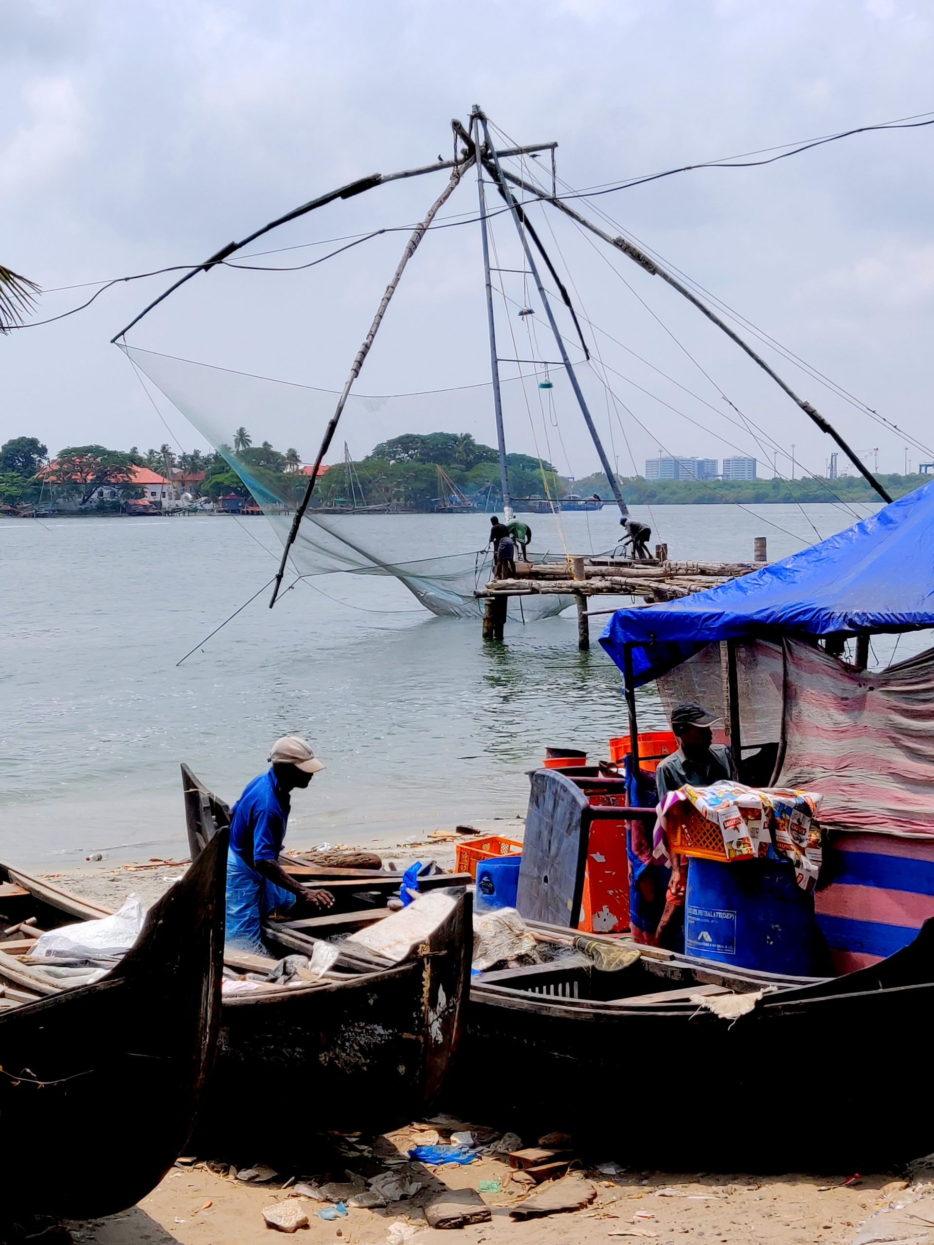 Snap Kochi's gorgeous fishing nets!