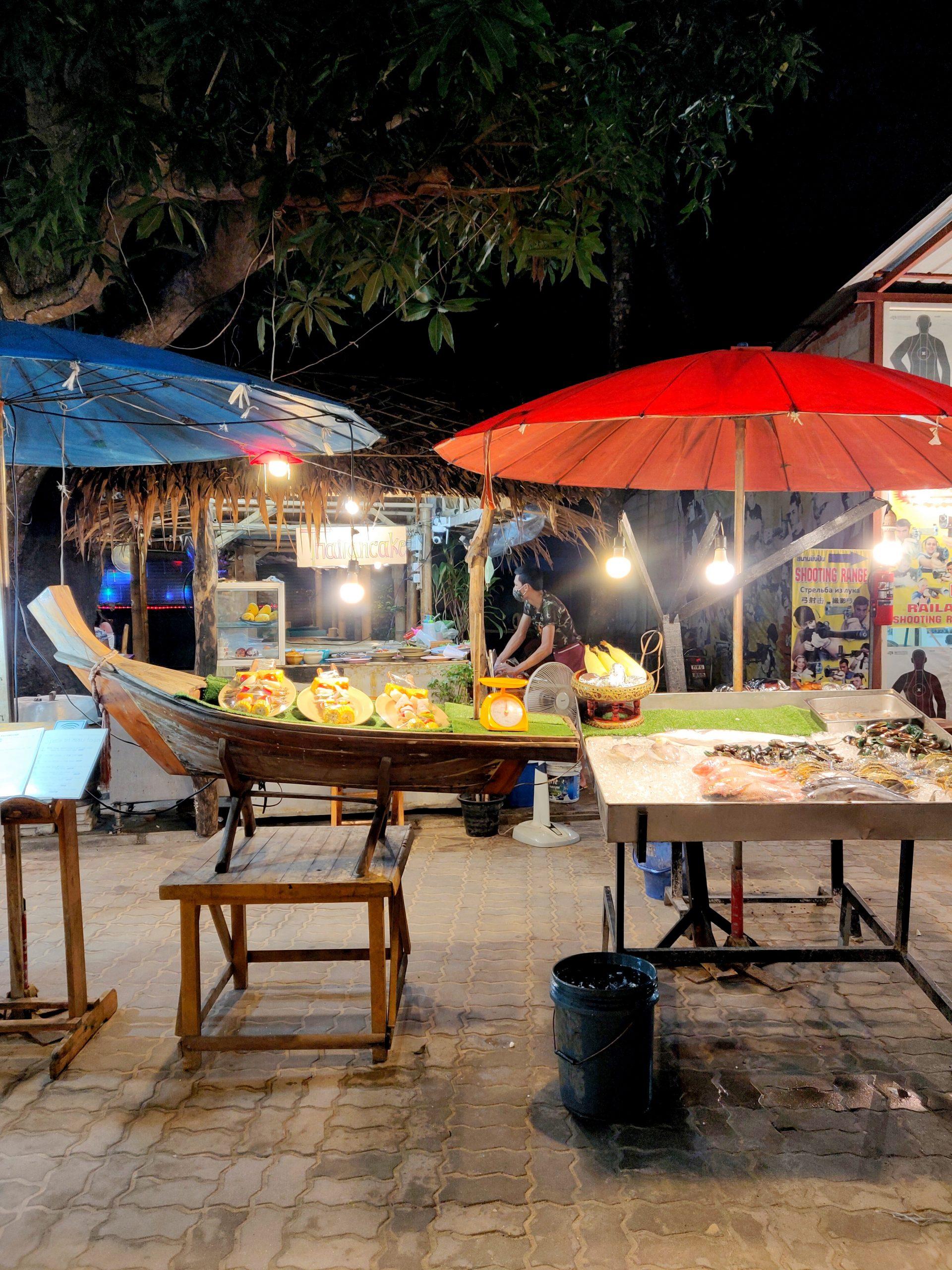 food scenes railay krabi