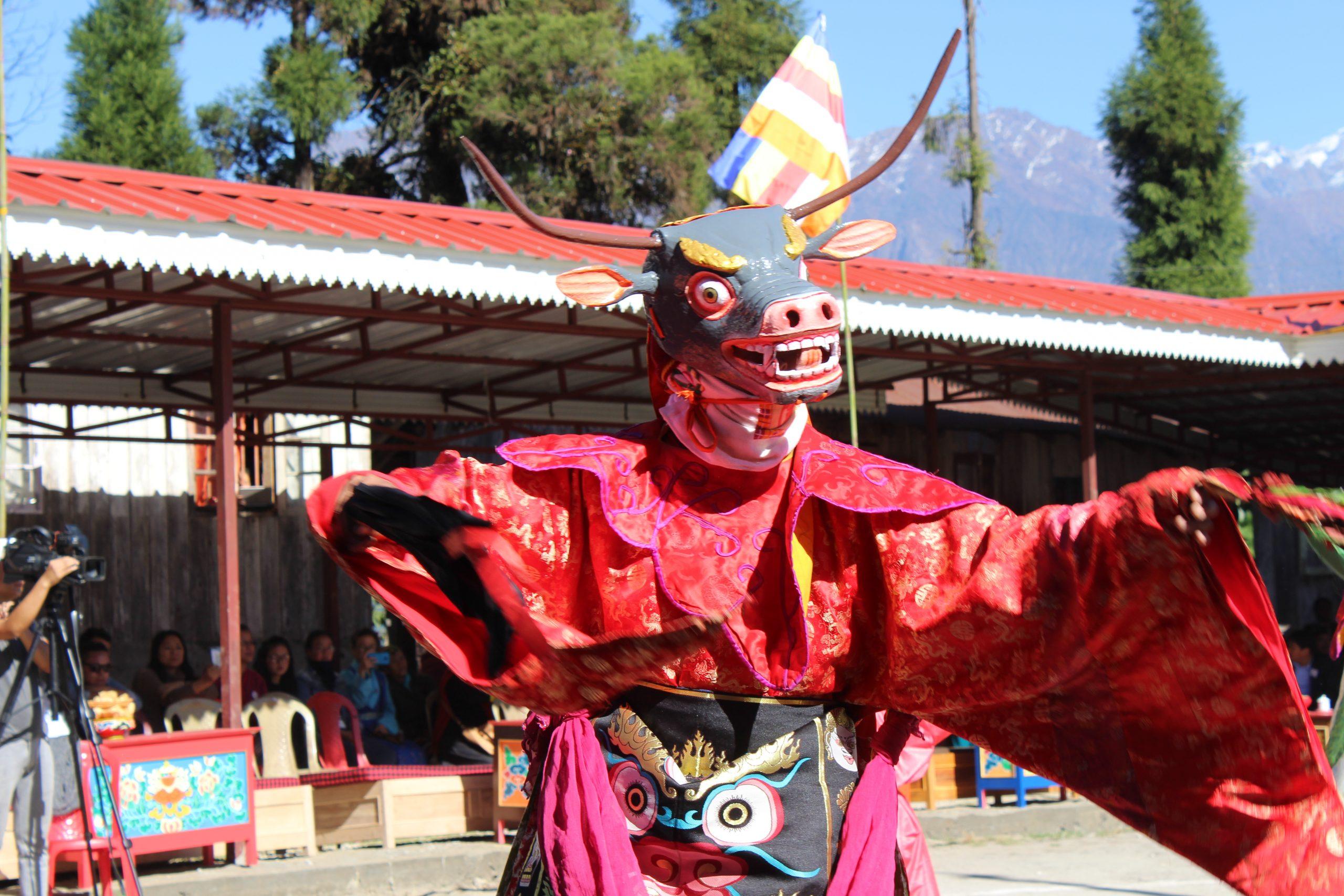 cham dance sikkim tumlong