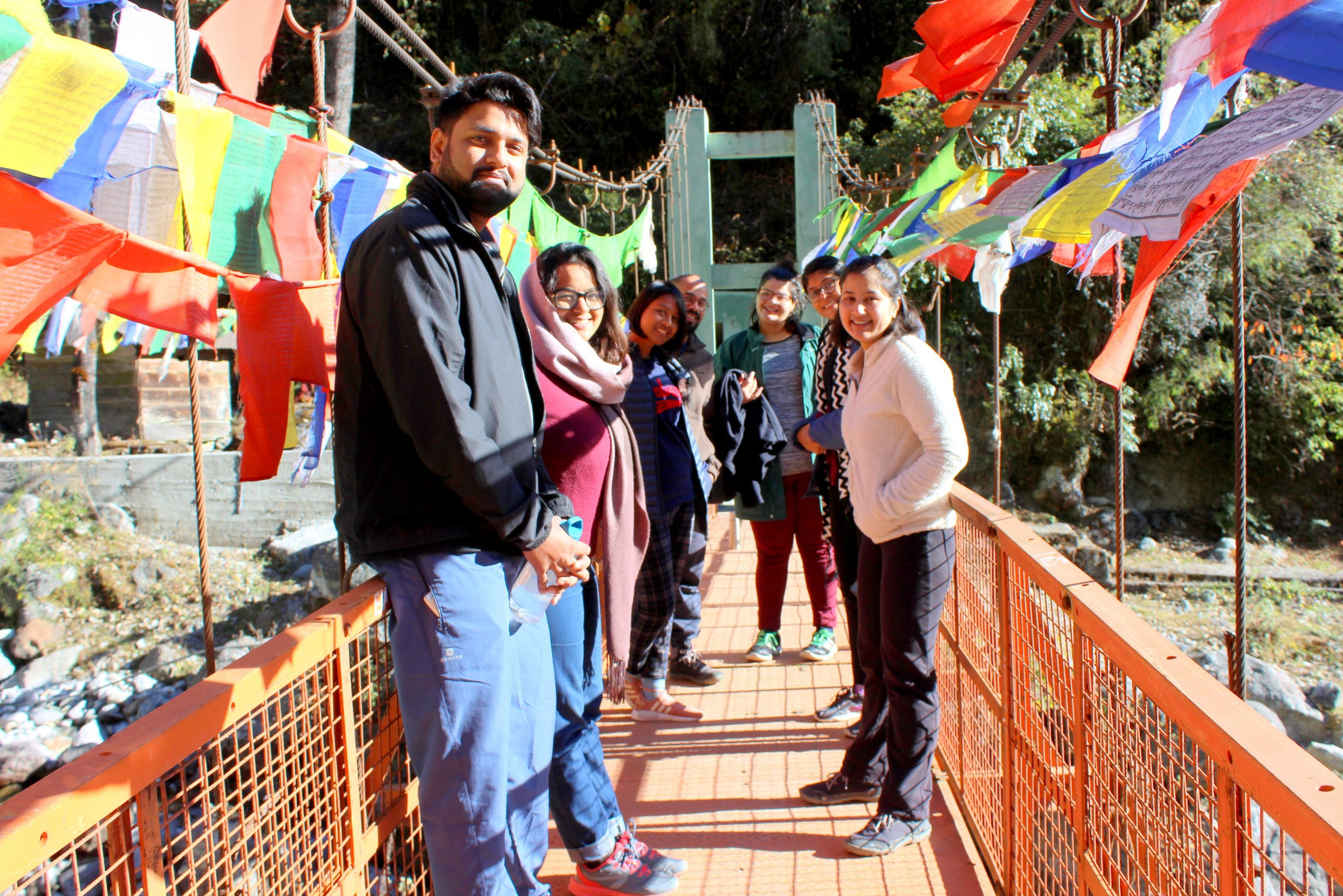 north sikkim group pic